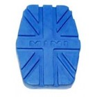 INT007A pedaalrubber blauw